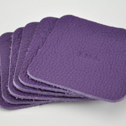 Dessous-verre-taurillon-violet