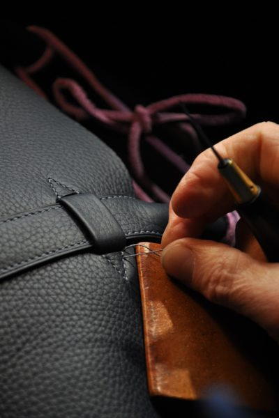 Know-how in luxury leather goods.