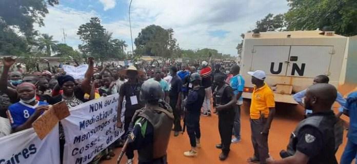 Centrafrique: la population exige le départ de RFI et de l'ONU