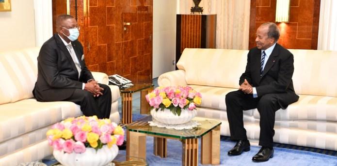 🇨🇲 L'Ambassadeur du Congo fait ses adieux au Chef de l'Etat