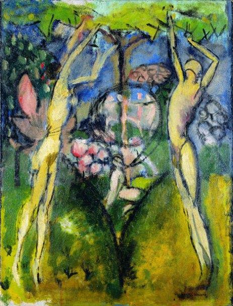 13-jeune-homme-et-jeune-femme-dans-le-printemps-de-marcel-duchamp-1911