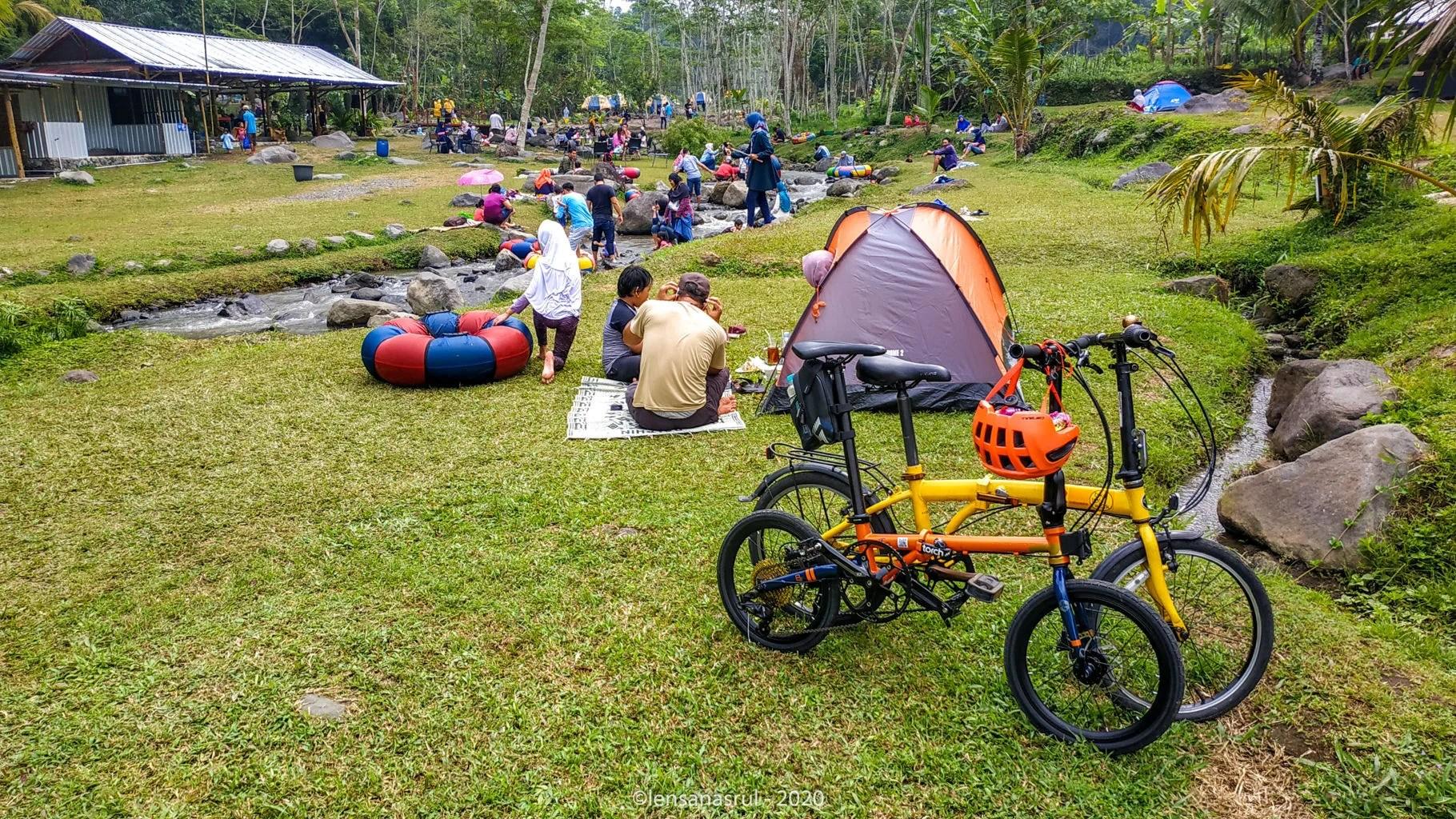 Habis Gowes Menikmati Wisata Alam Ledok Sambi Kaliurang Yogyakarta