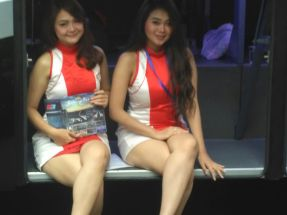 Sales Promotion Girl (SPG) nan cantik