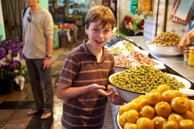 joshua & the olives / marrakech
