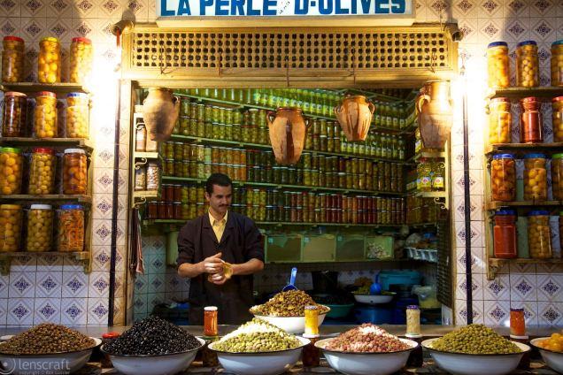 la perle d'olives / marrakech