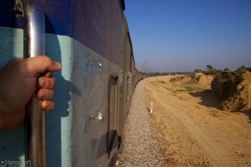 approaching bamanpura / india