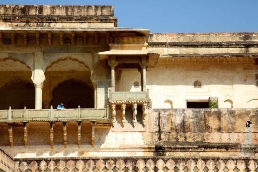 the watcher / amer fort, jaisalmer, india