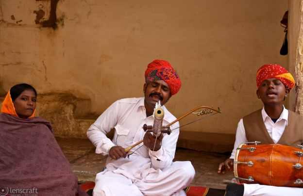 minstrels / jodhpur, india