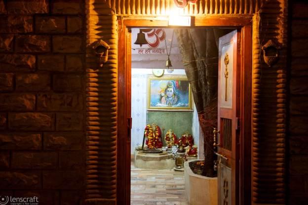 the blue god in the blue city / jodhpur, india