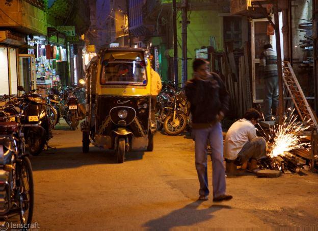 autorickshaw repair / jaipur, india