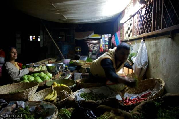 late night market / jodhpur, india
