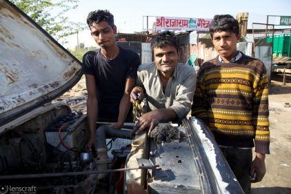 the mechanics / pokaran, india