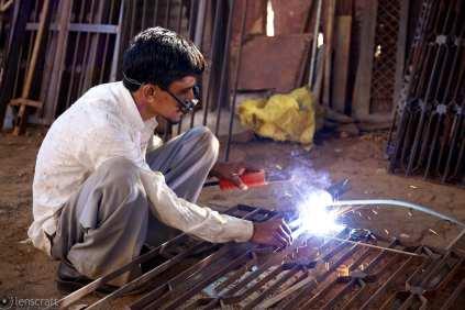 the welder / pokaran, india