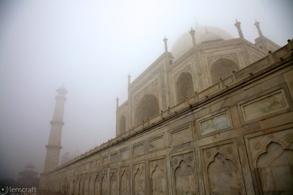 silence of the taj / agra, india