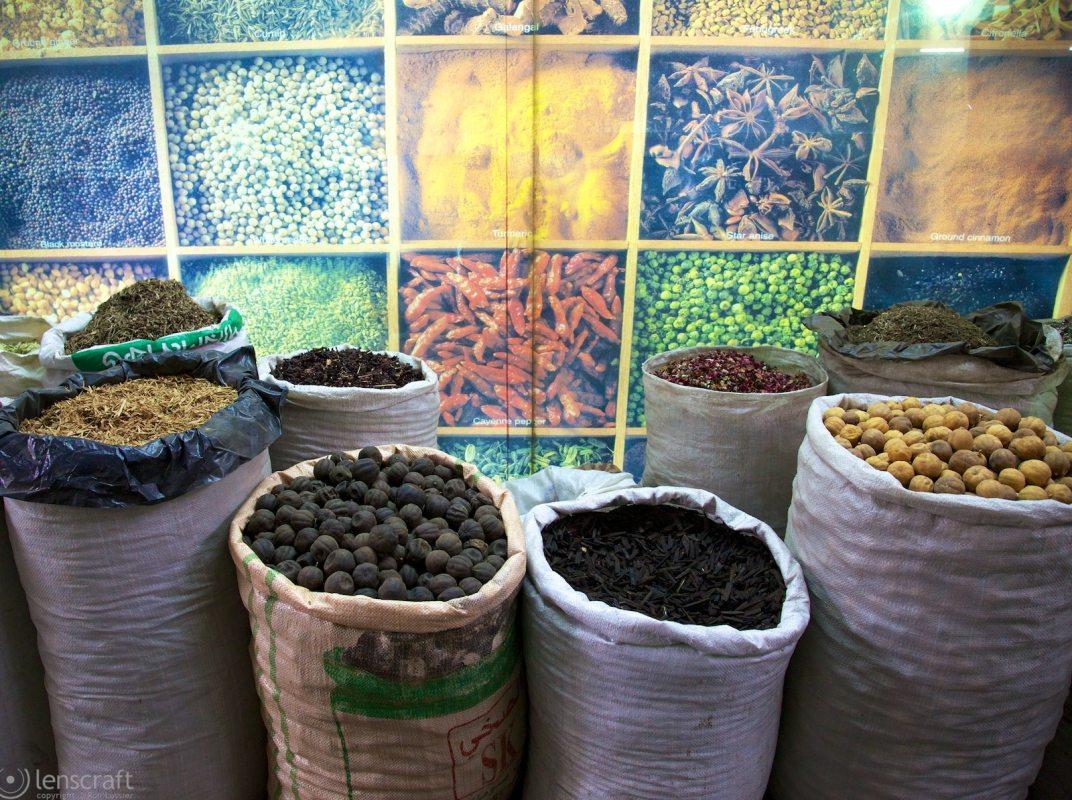 the spice souk / dubai, uae