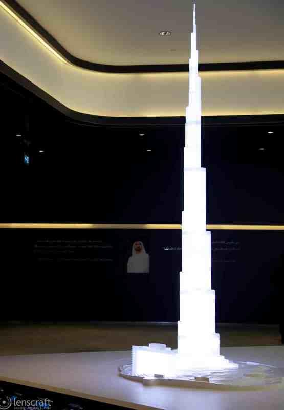 burj khalifa and sheik / dubai, uae