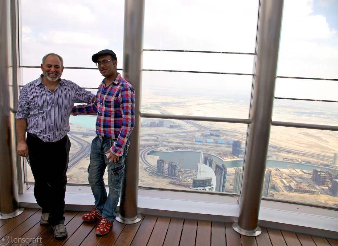 ron & khan / burj khalifa, dubai
