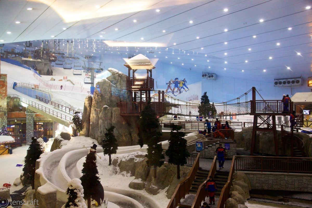 the luge / dubai mall, uae