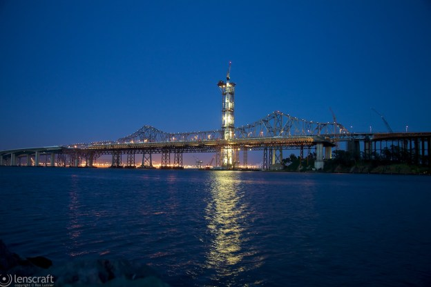 self-anchored suspension span erection / bay bridge, ca
