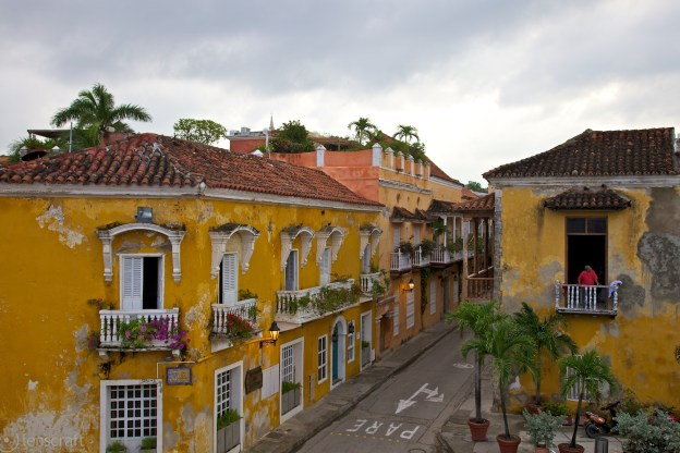 looking out / cartagena, colombia