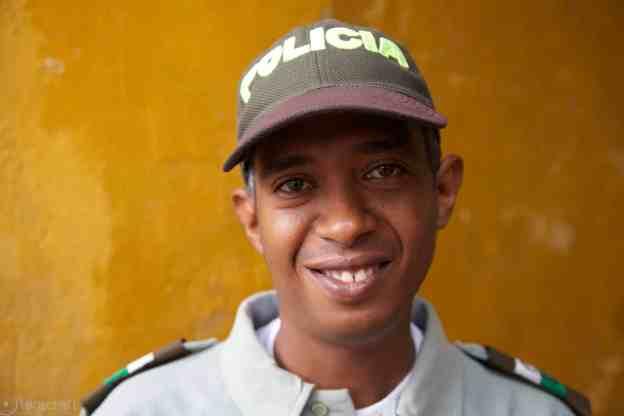 policia / cartagena, colombia