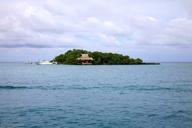 isla privada / islas del rosario, colombia