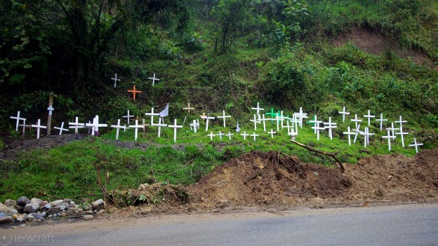 sixty crosses / manizales, colombia