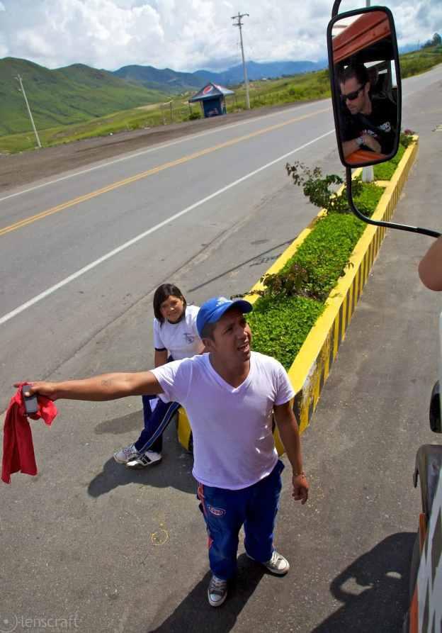 sin gasolina / patía, colombia