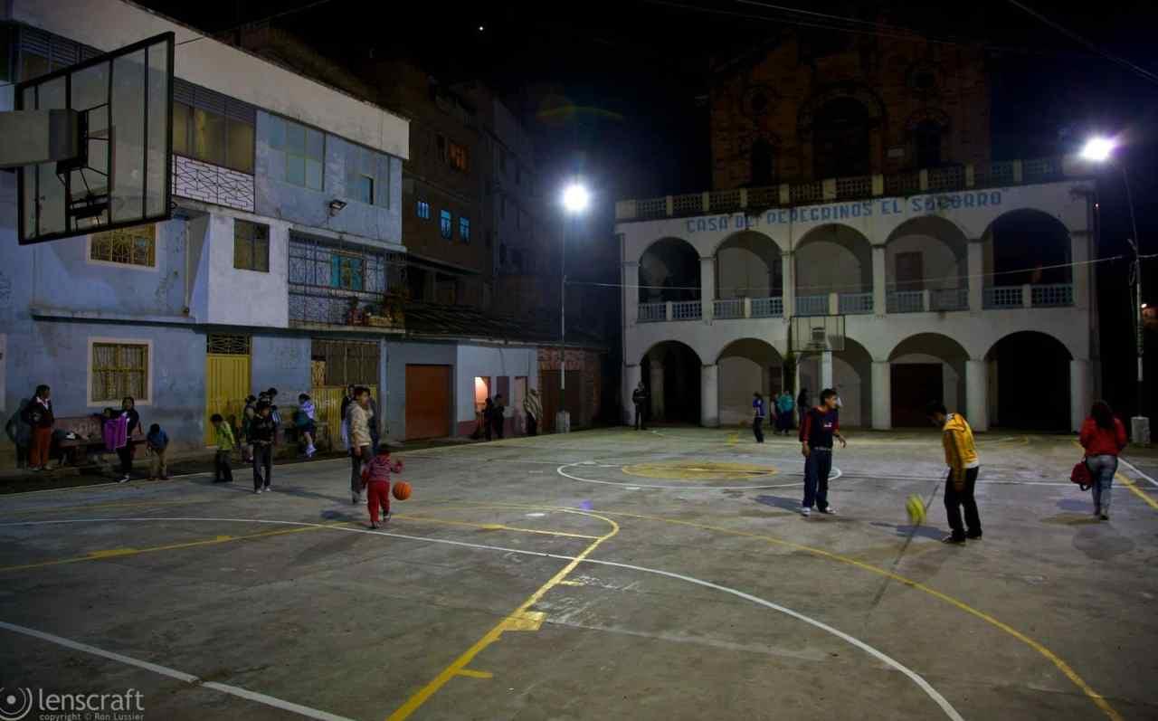 casa de peregrinos el socorro / las lajas sanctuary, colombia