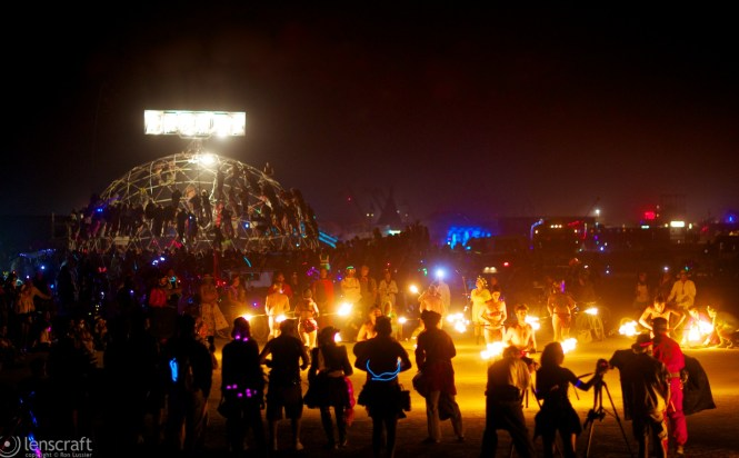 thunderdome & fire dance / black rock city, nevada