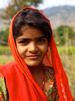 the village princess / sadri, india