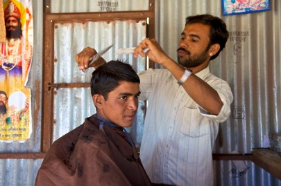 the barber / pokaran, india
