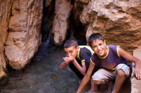the spring / todra gorge, morocco