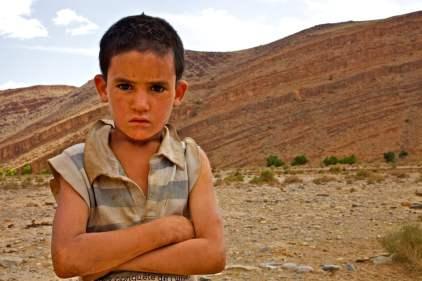 amazigh boy / near talat n'yasi, morocco