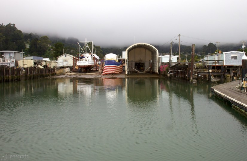 arques boatyard / sausalito, ca