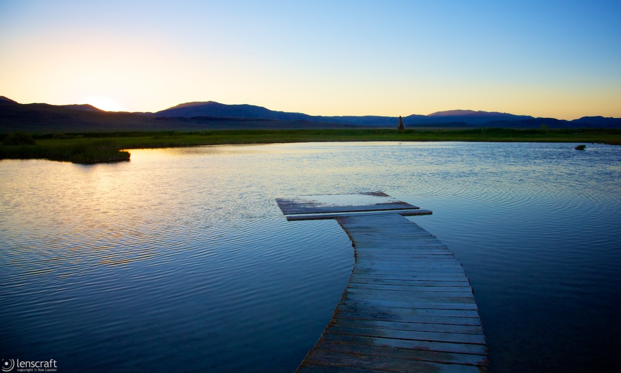 soaking pond / fly ranch, nevada