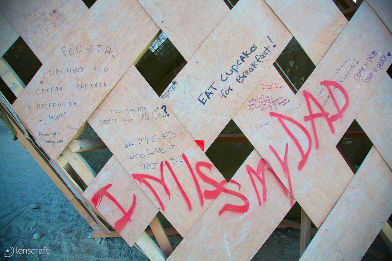 messages of mir / black rock city, nevada
