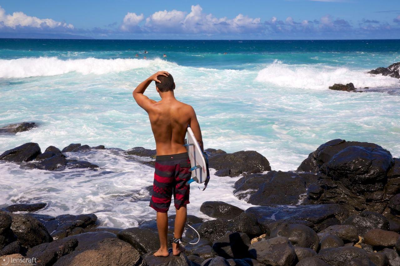 decision / ho'okipa, hawaii