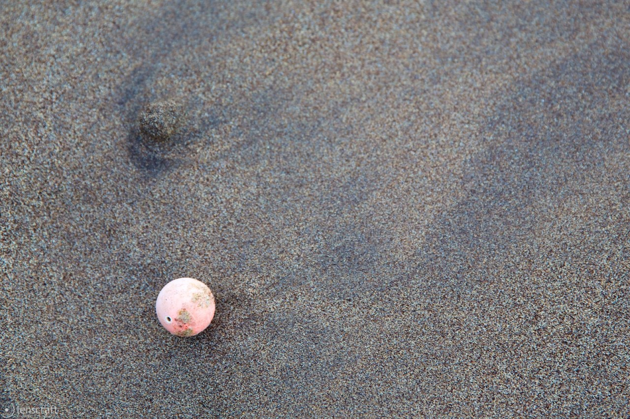 pink ball / hana, hawaii