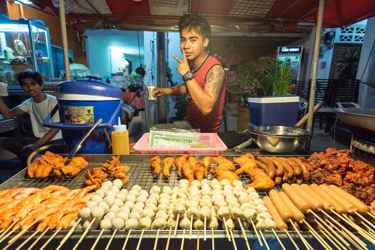night snacks / phuket, thailand
