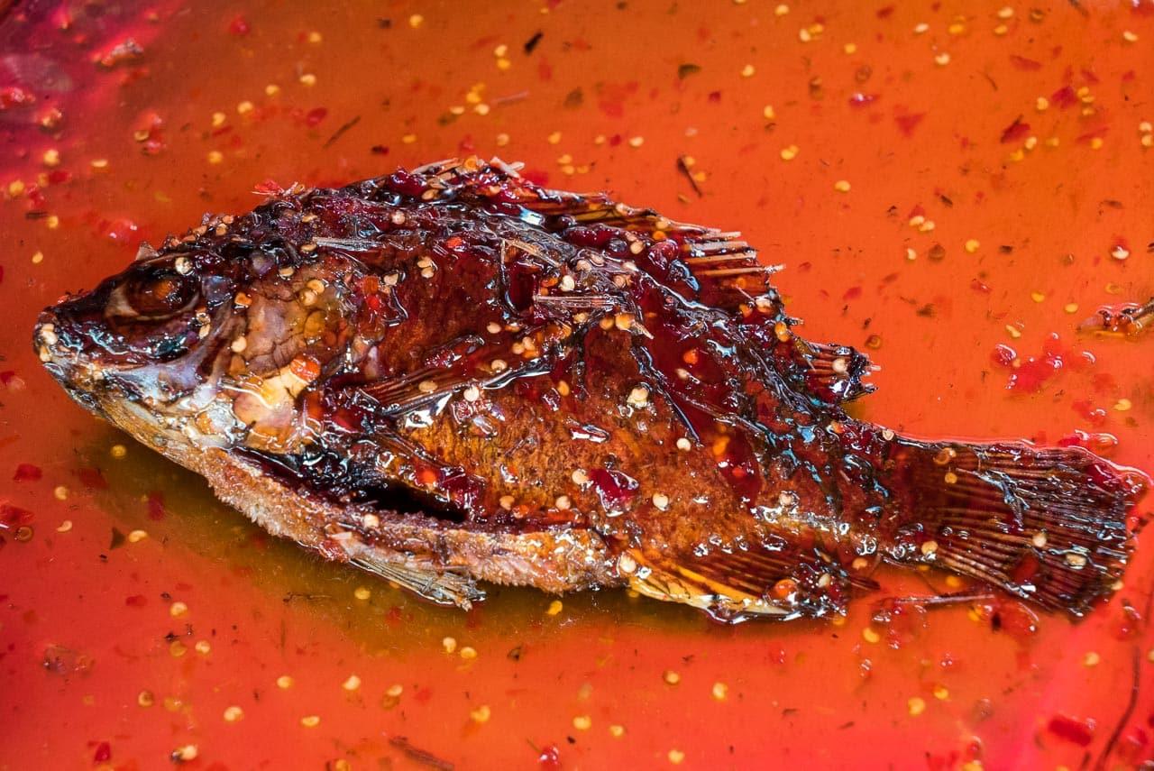spicy fish / hua hin, thailand