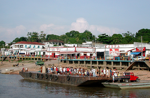 Paritins, on the Amazon River