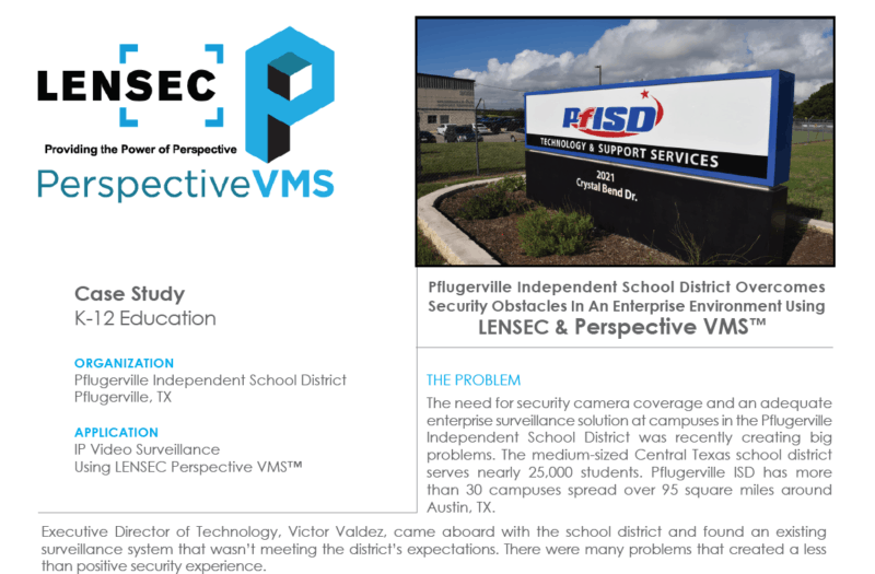 Pflugerville ISD Case Study