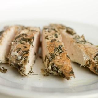 balsamic herbed chicken