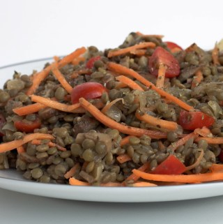herbed lentil salad