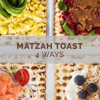 How to Dress Up Your Matzah