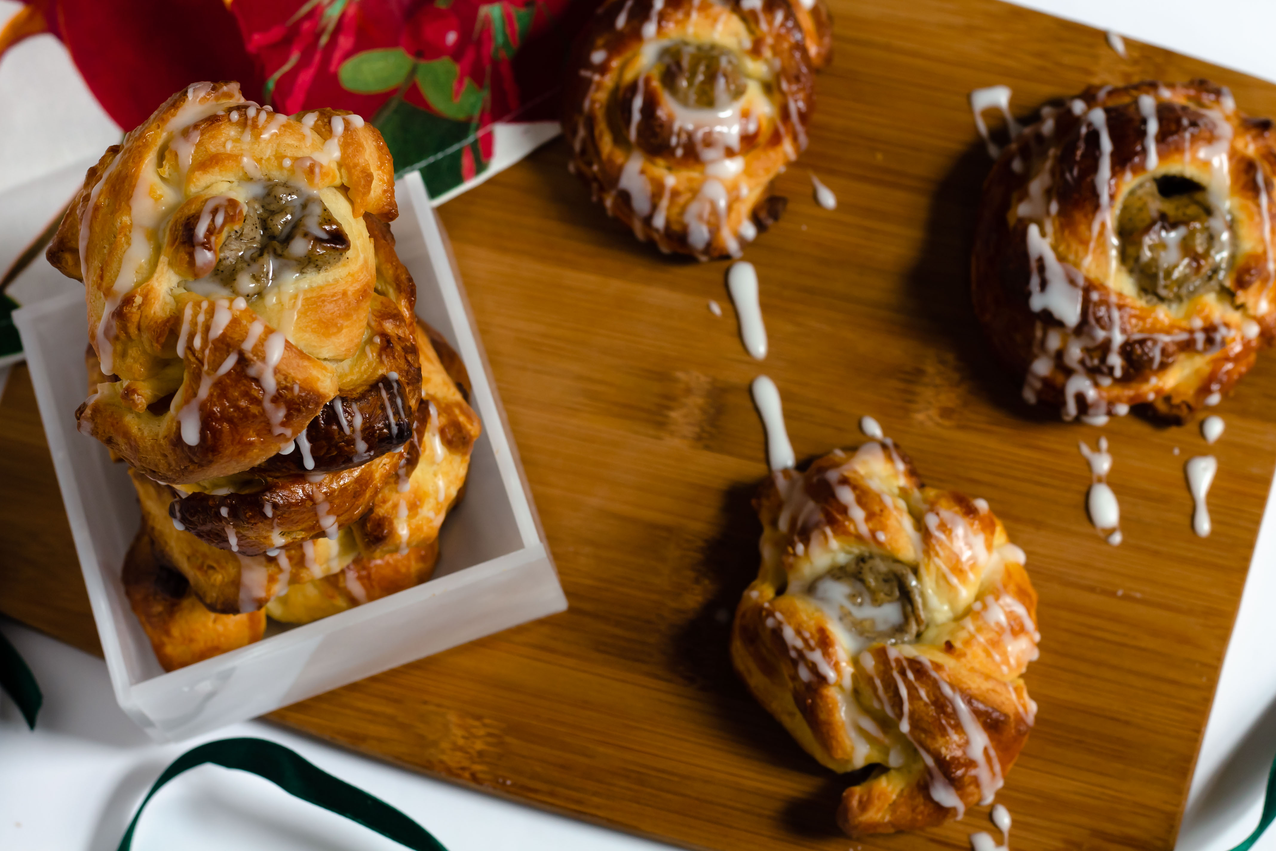 espresso cream cheese danish pastries