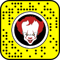 Pennywise Snapchat Lens & Filter