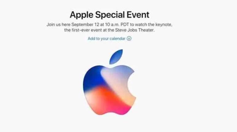 Apple Event 2017