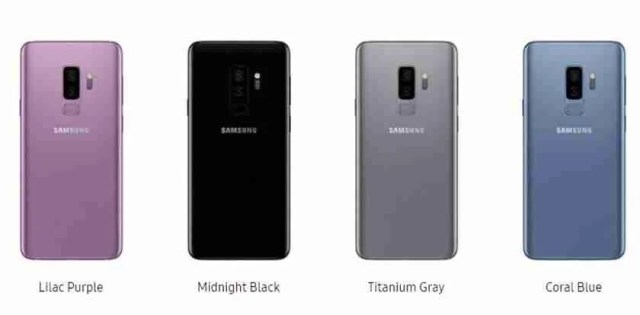 New Samsung Galaxy S9 and S9 plus available for pre-orders